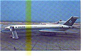 Saudia Arabian 727 Airline Postcard may3249 (Image1)