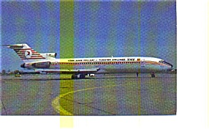 Turkish Airlines 727 Airline Postcard may3251 (Image1)