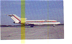 Key Air 727 Airline Postcard may3255 (Image1)