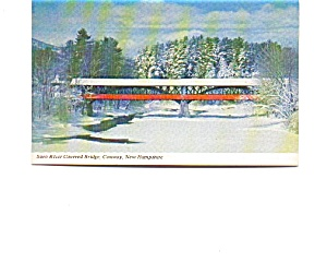 Saco River Covered Bridge Postcard (Image1)