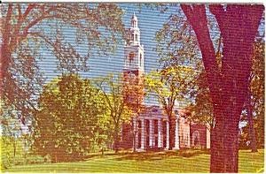 Ira Allen Chapel University  Burlington Vermont Postcard n0016 (Image1)