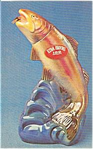 Ezra Brooks  Rainbow Trout Postcard n0021 (Image1)