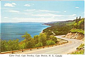 Cabot Trail Nova Scotia Postcard (Image1)