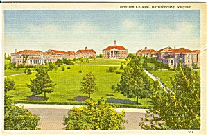Madison College VA Postcard n0050 (Image1)