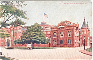 National Museum Washington DC  Postcard (Image1)