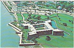 Castillo de San Marcos   Postcard (Image1)