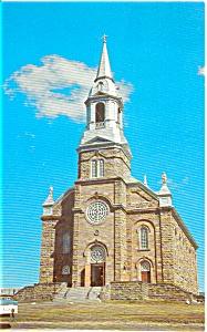 St Peters Church Cape Breton NS   Postcard n0069 (Image1)