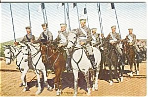 The Terrible Uhlans on Horseback Austria  Postcard n0070 (Image1)