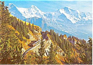 Berner Oberland Mountain View Postcard (Image1)