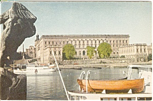 Stockholm Royal Palace Postcard n0099 (Image1)