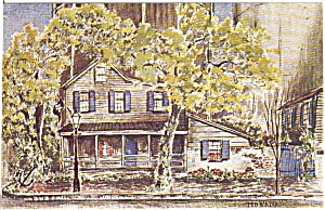 The World Famous Pirate s House Savannah GA Postcard n0109 (Image1)