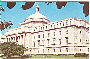 Capitol Building San Juan PR Postcard (Image1)