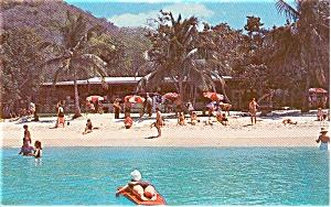 Magens Bay Pavillion St Thomas VI Postcard n0157 (Image1)