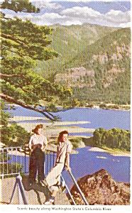 Columbia River Scene WA Postcard (Image1)