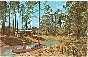 Disney World Ft Wilderness Postcard n0179 (Image1)