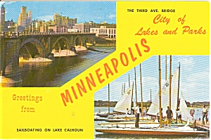 Greetings From Minneapolis Postcard (Image1)
