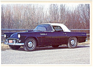 1955 Ford Thunderbird Postcard (Image1)