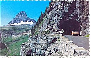 Mt.Clements Glacier National Park Montana n0288 (Image1)