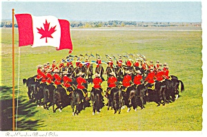 Royal Canadian Mounted Police Canada Postcard n0294 (Image1)