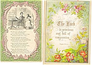 Victorian Religious Trade Cards Lot (2) (Image1)