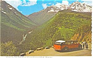 Tour Coach Glacier National Park Montana n0319 (Image1)