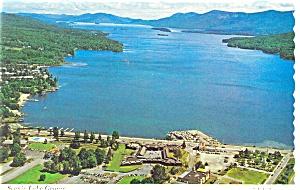 Scenic Lake George New York Postcard n0387 (Image1)