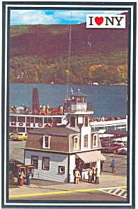 Mv Mohican At Dockside Lake George Ny N0388