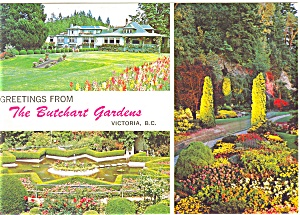 Butchart Gardens, Vancouver BC Canada (Image1)