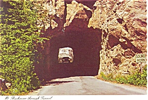 Mt Rushmore SD Through Tunnel n0402 (Image1)