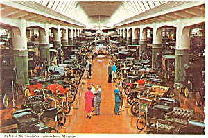 Dearborn MI Antique Autos Ford Museum Postcard n0448 (Image1)