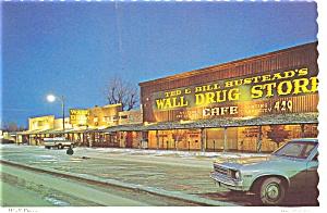 Wall SD Wall Drug Store Postcard n0454 (Image1)