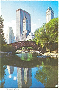 New York City Central Park Postcard (Image1)