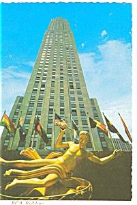 New York City RCA Building Postcard n0533 (Image1)