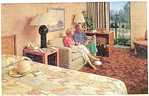 Days Inn,Hotels and Suites, Interior  Postcard (Image1)