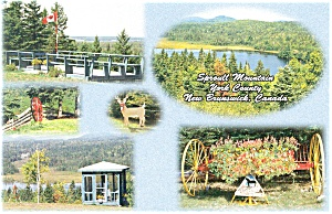 New Brunswick,Canada, Sproull Mountain Postcard (Image1)