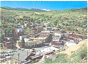 Central City, Co, Panoramic View Postcard