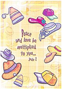 Bible Verse Postcard Jude 1 n0552 (Image1)