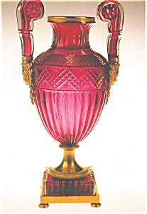 Medici Vase Russia Imperial Glassworks Postcard (Image1)
