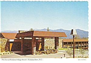 The Inn at Fontana Village Resort NC Postcard n0646 (Image1)