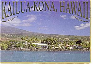 Kailua Kona Hawaii Postcard n0706 (Image1)