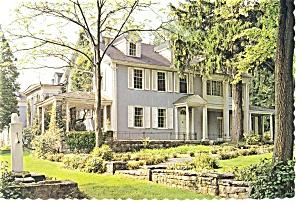 Boalsburg PA The Boal Mansion Postcard n0717 (Image1)