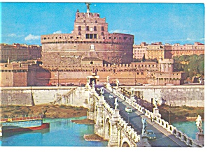 Rome Italy St. Angelo Castle Postcard n0731 (Image1)
