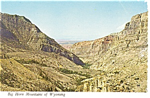 Big Horn Mountains, Wyoming Postcard (Image1)