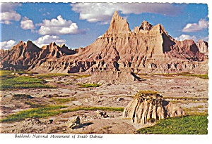 Badlands National Monument, SD Postcard (Image1)