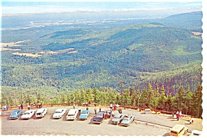 Lookout Point,Olympic National Park Postcard Old Cars (Image1)