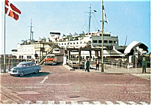 Ferry Theoder Heuss Postcard Vintage Cars n0817 (Image1)