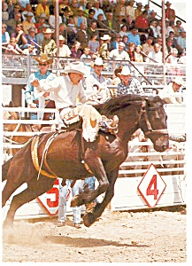 Cody, WY, Rodeo Capital of the World Postcard (Image1)