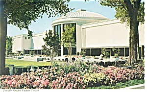 Salt Lake City,UT, Temple Square Postcard (Image1)