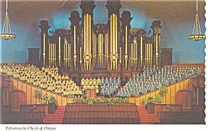 Salt Lake City UT Tabernacle Choir Postcard n0920 (Image1)