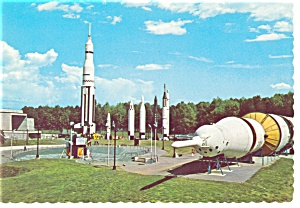 Huntsville, AL, Space and Rocket Center Postcard (Image1)